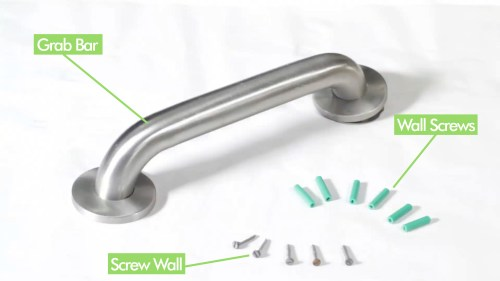 small resolution of how to install a grab bar