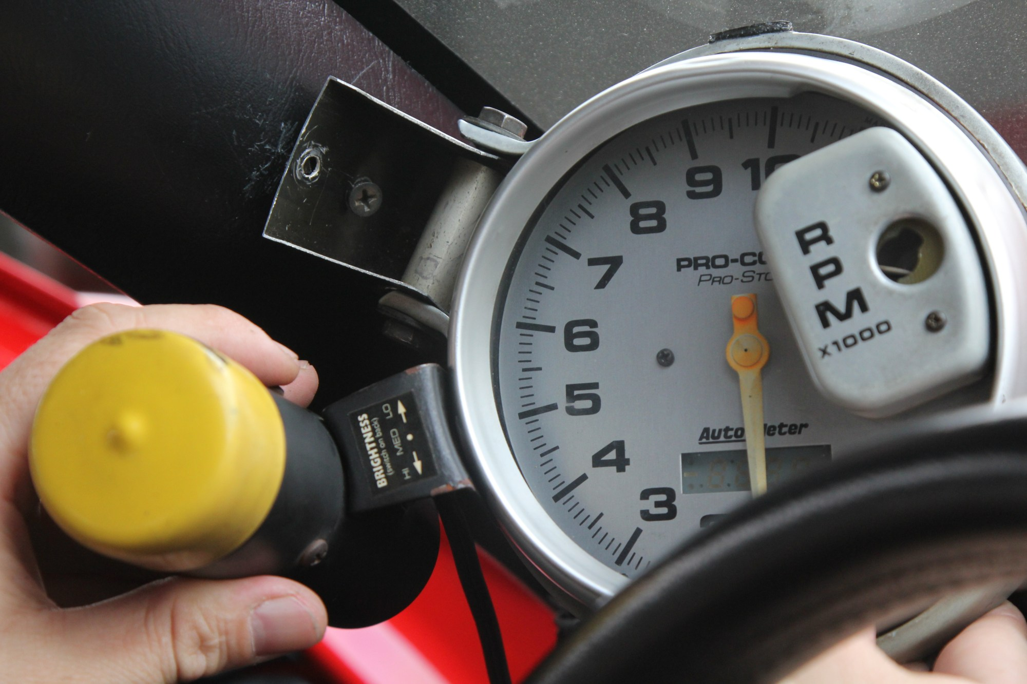 hight resolution of how to install a tachometer 8 steps with pictures wikihow auto gauge diesel tachometer wiring auto tachometer wiring