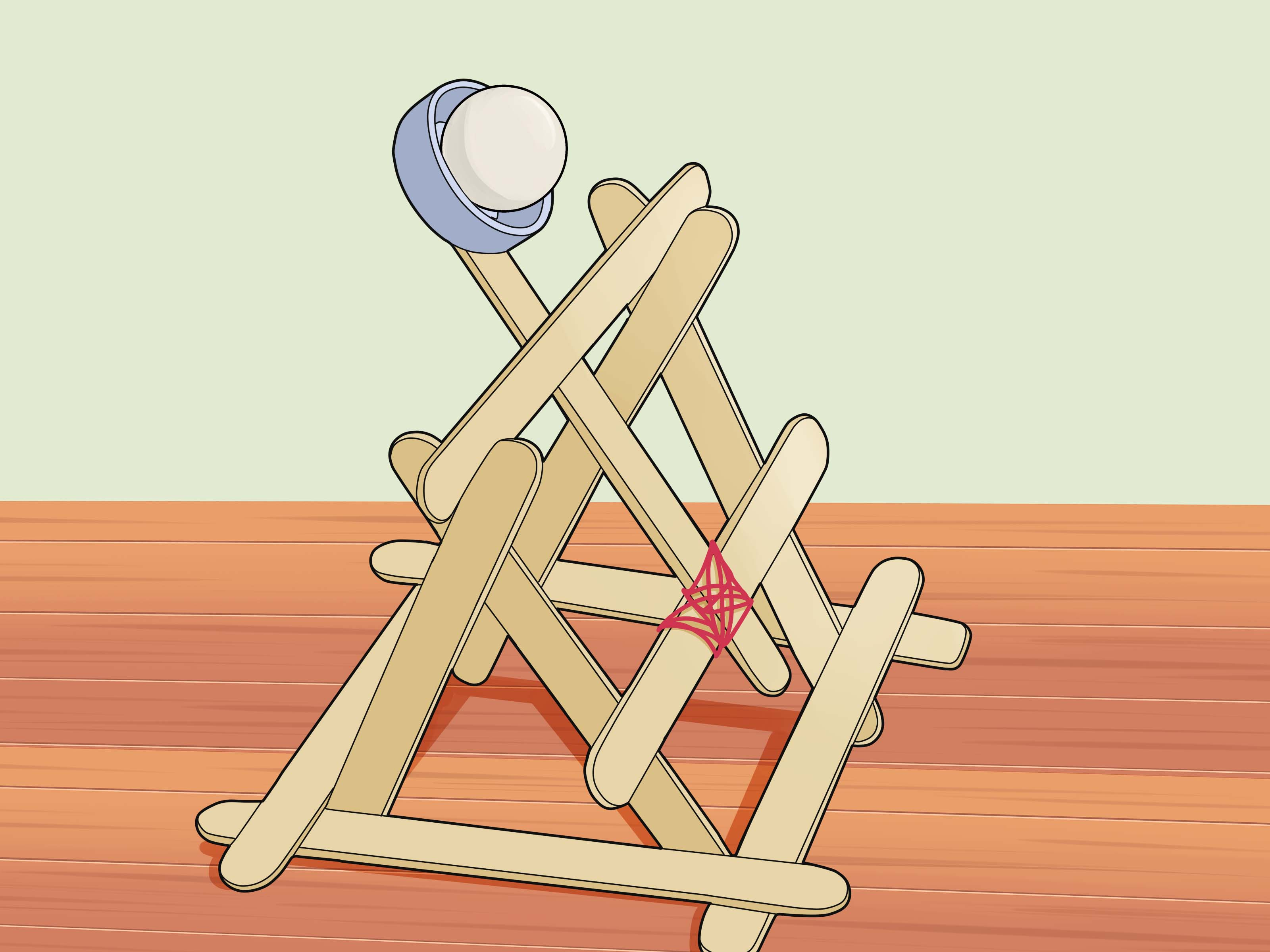 3 Ways To Build A Basic Catapult Wikihow