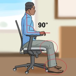 Office Chair Adjustments Graco Duodiner High Canada How To Adjust Height 8 Steps With Pictures