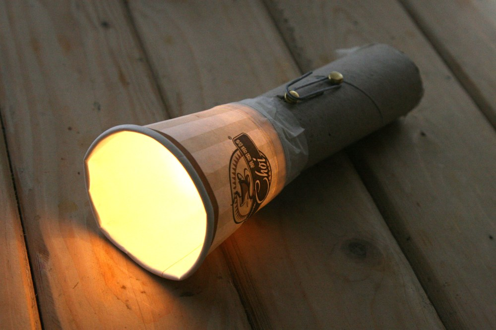 medium resolution of how to make a homemade flashlight