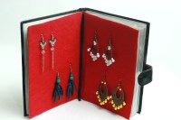 5 Ways to Repurpose a Datebook Into an Earring Storage Book