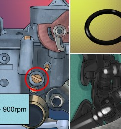 how to set the 34pict 3 carburetor on an aircooled volkswagen vw 1600cc beetle engine diagram starter [ 3200 x 2400 Pixel ]