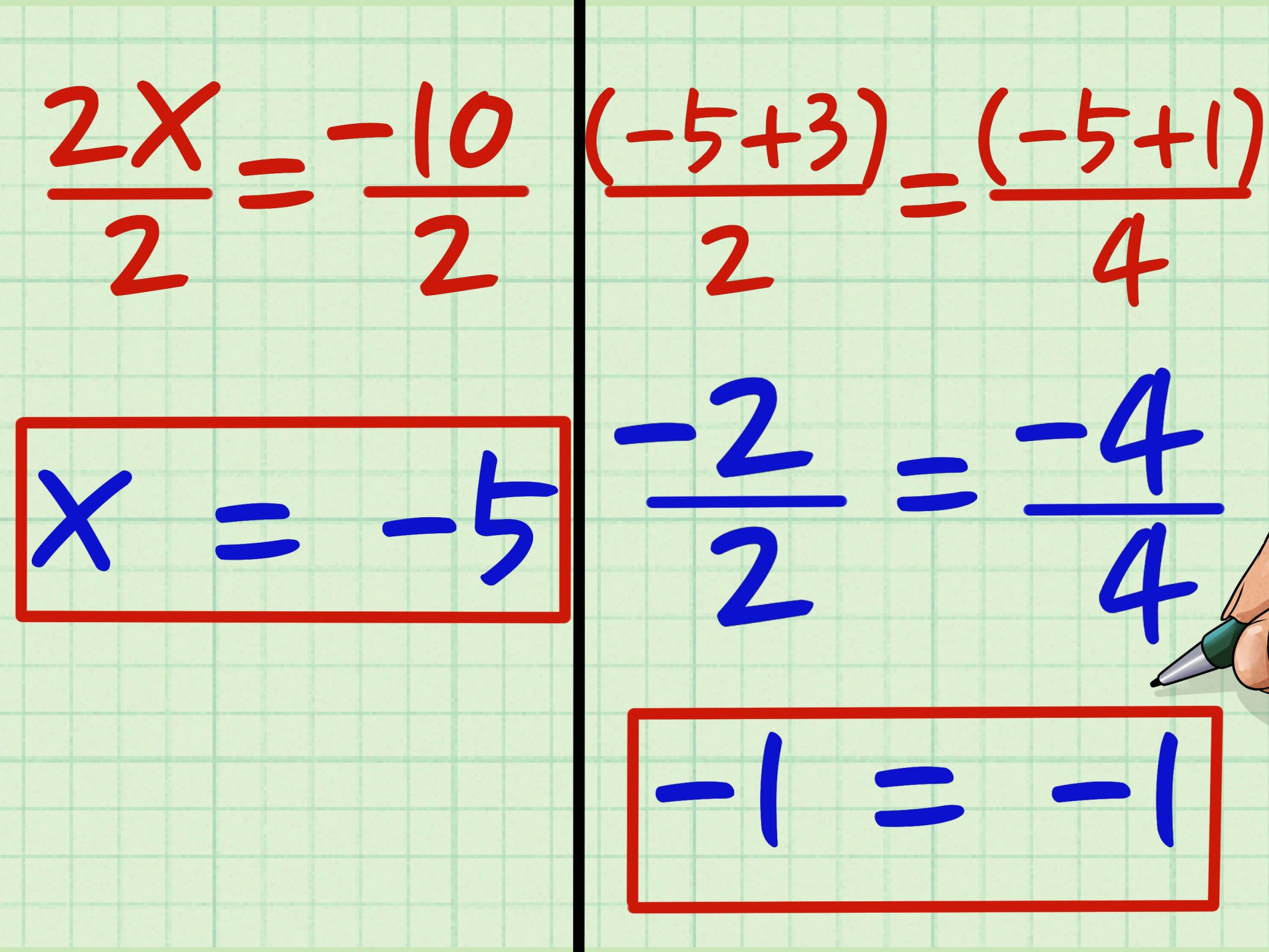 hight resolution of How to Cross Multiply: 8 Steps (with Pictures) - wikiHow
