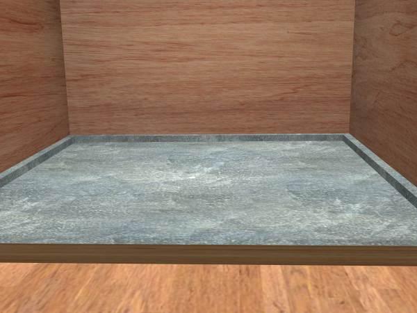 Concrete Shower Floor Pan