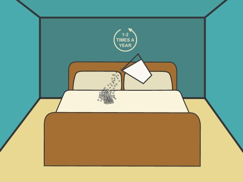 small resolution of how to clean a bed with baking soda