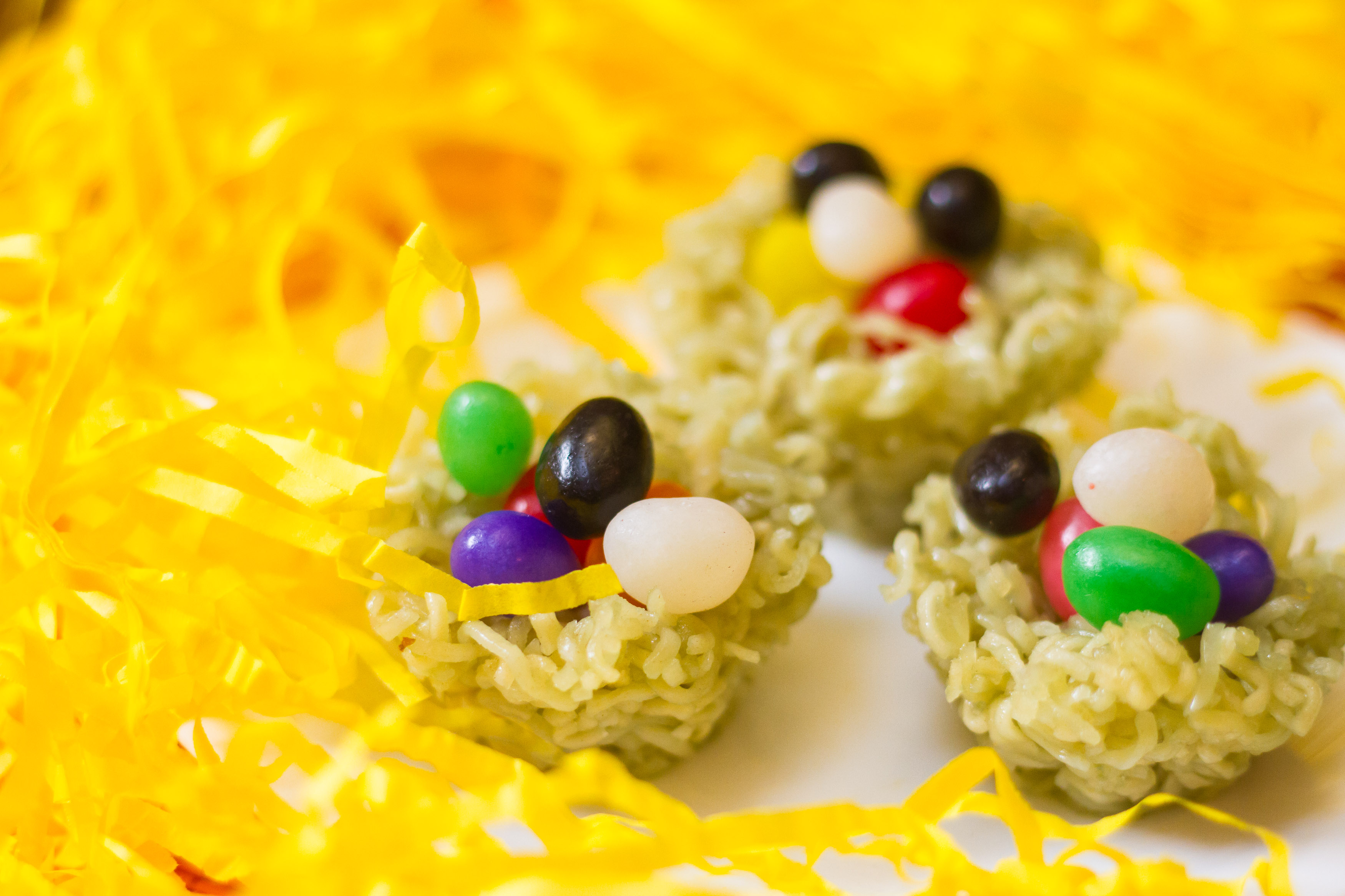 How To Make Jelly Bean Easter Nests 7 Steps With Pictures