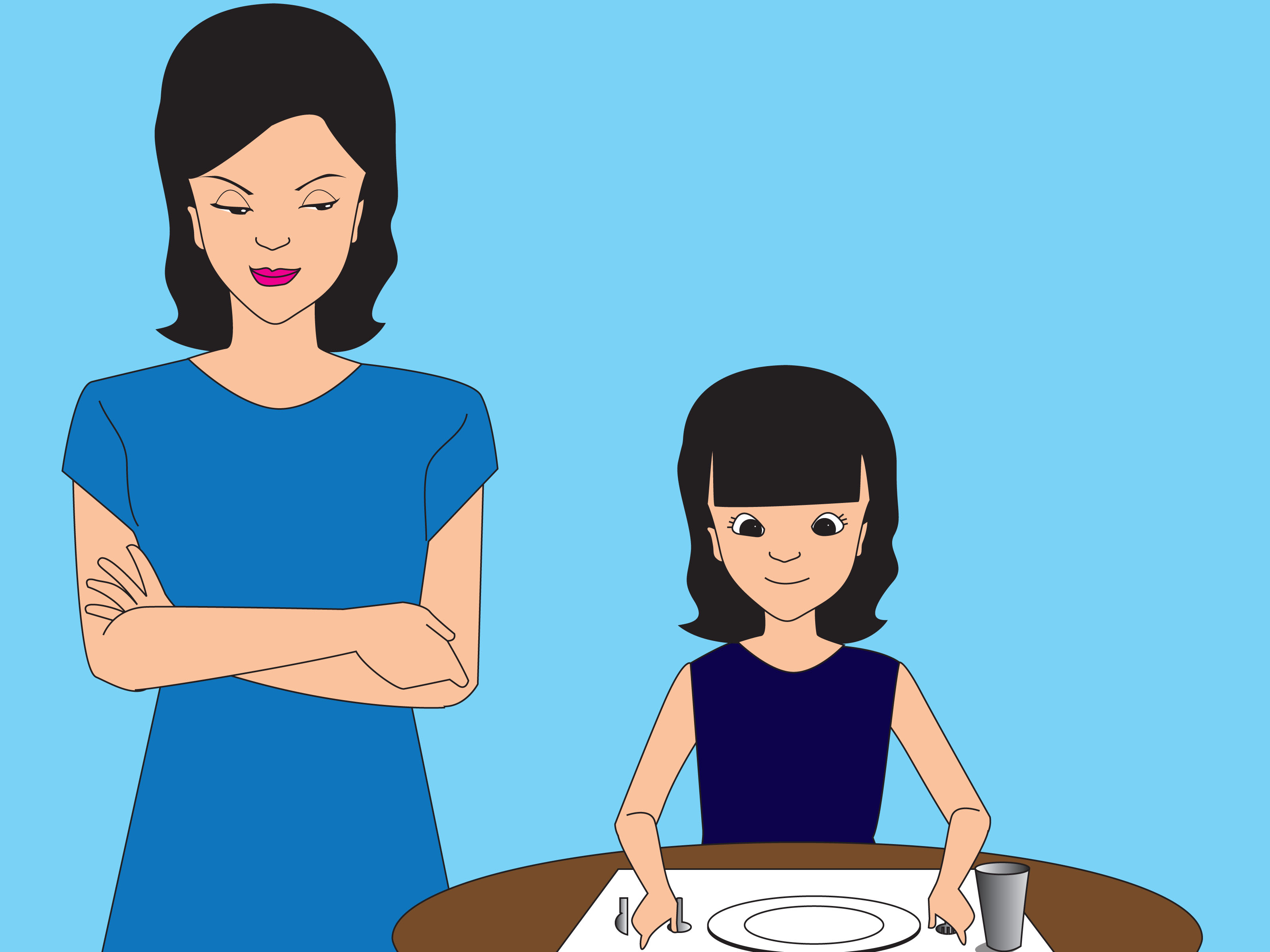 How To Teach Restaurant Dining Manners To Kids 9 Steps