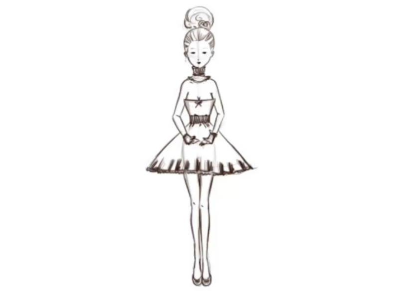 How to Draw Like a Fashion Designer: 14 Steps (with Pictures)