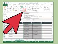 3 Modi per Creare una Linea Temporale su Excel