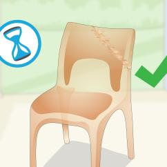 How To Fix Broken Plastic Chair Patio Covers Calgary 3 Ways Wikihow