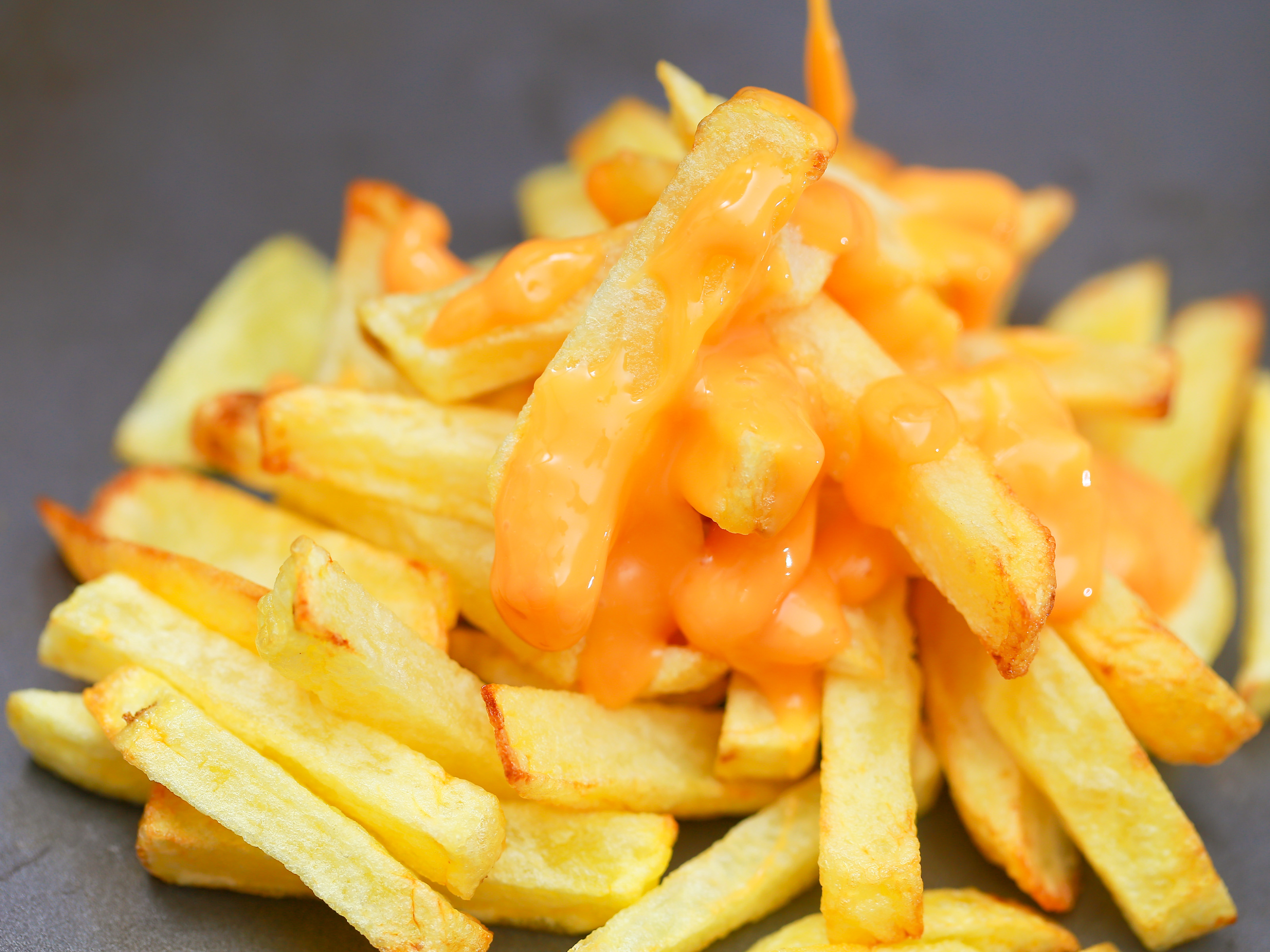 Crispy French Fries and Cheese Sauce (Recipe) – Perfectionist You