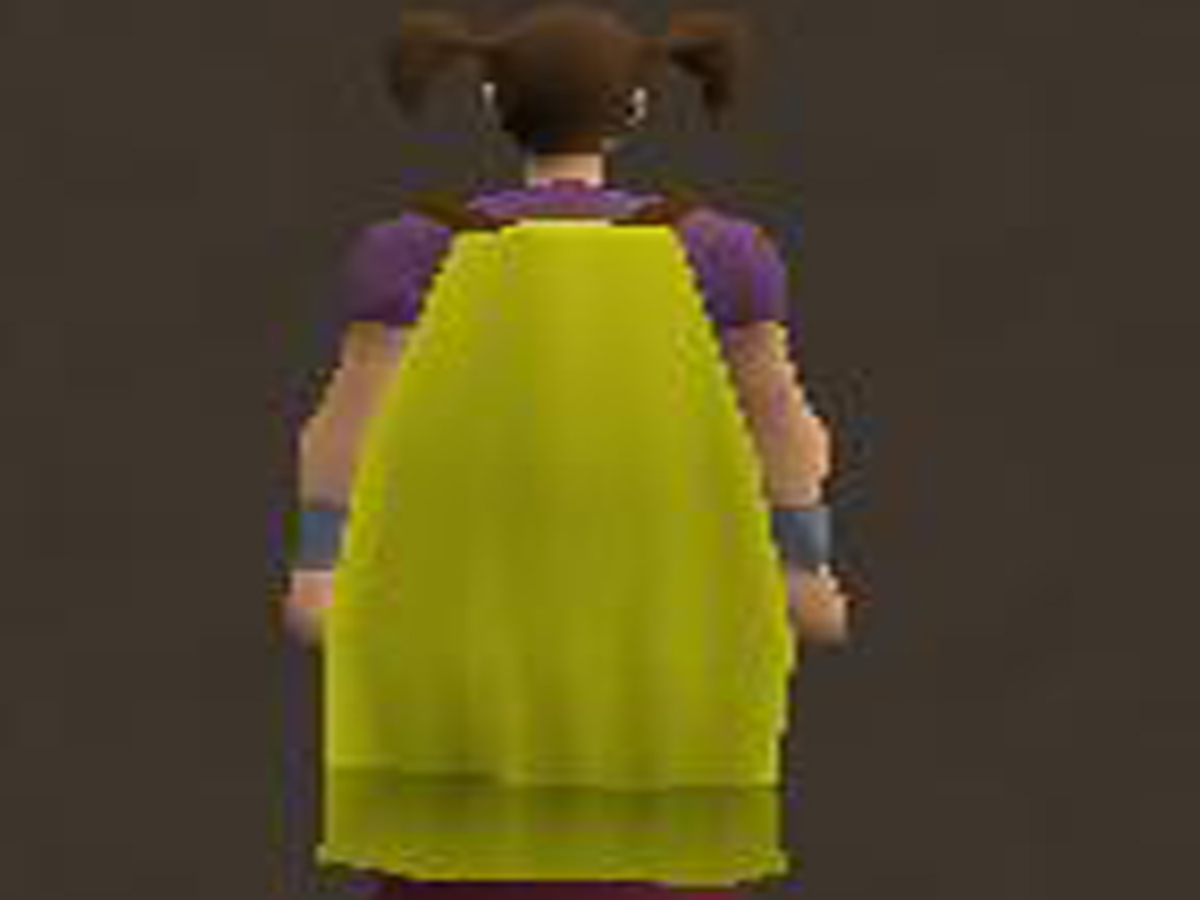 How to Make a Yellow Cape on RuneScape 6 Steps with