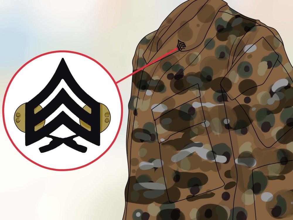 medium resolution of how to properly align rank insignia on marine uniforms