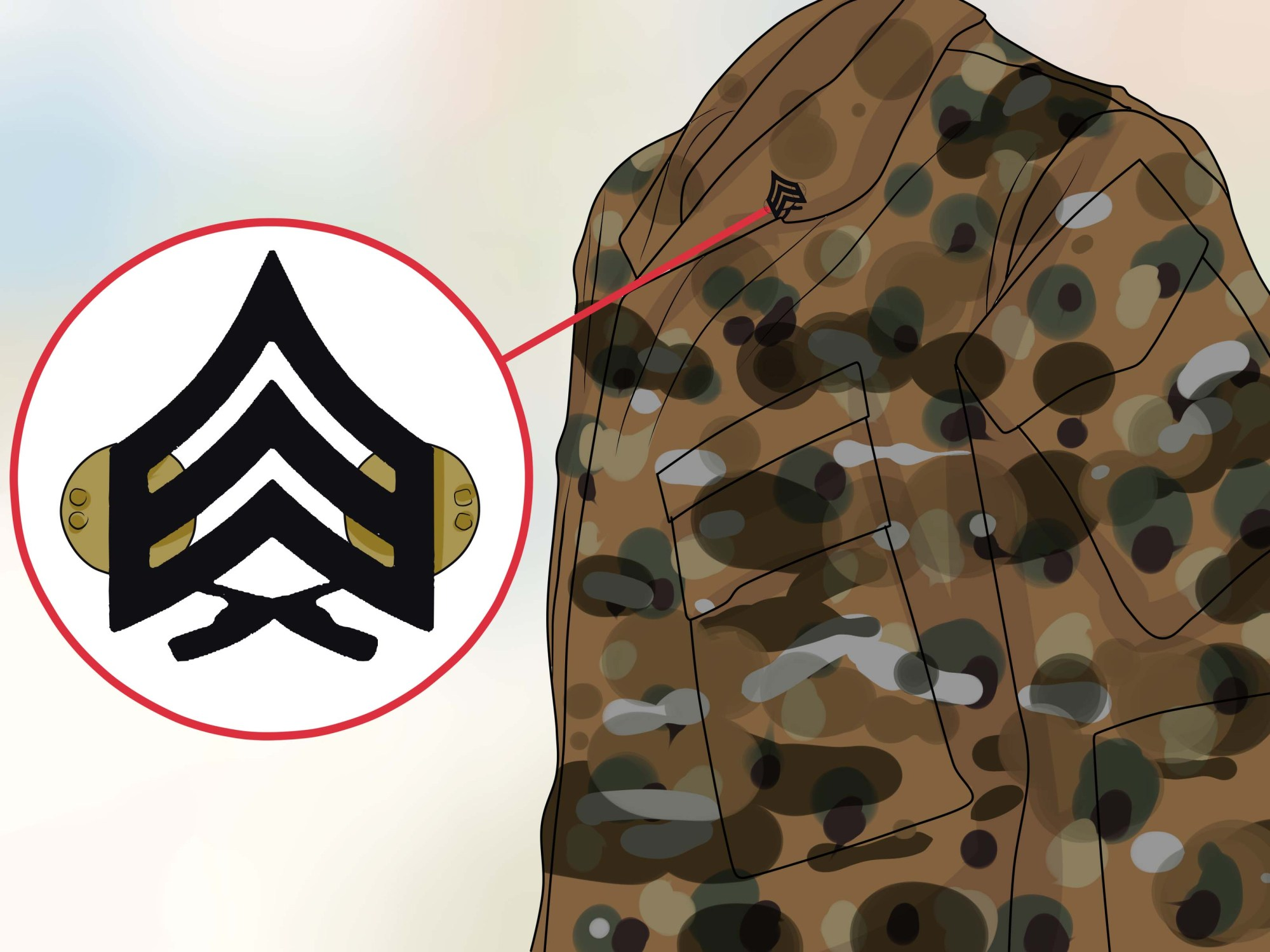 hight resolution of how to properly align rank insignia on marine uniforms