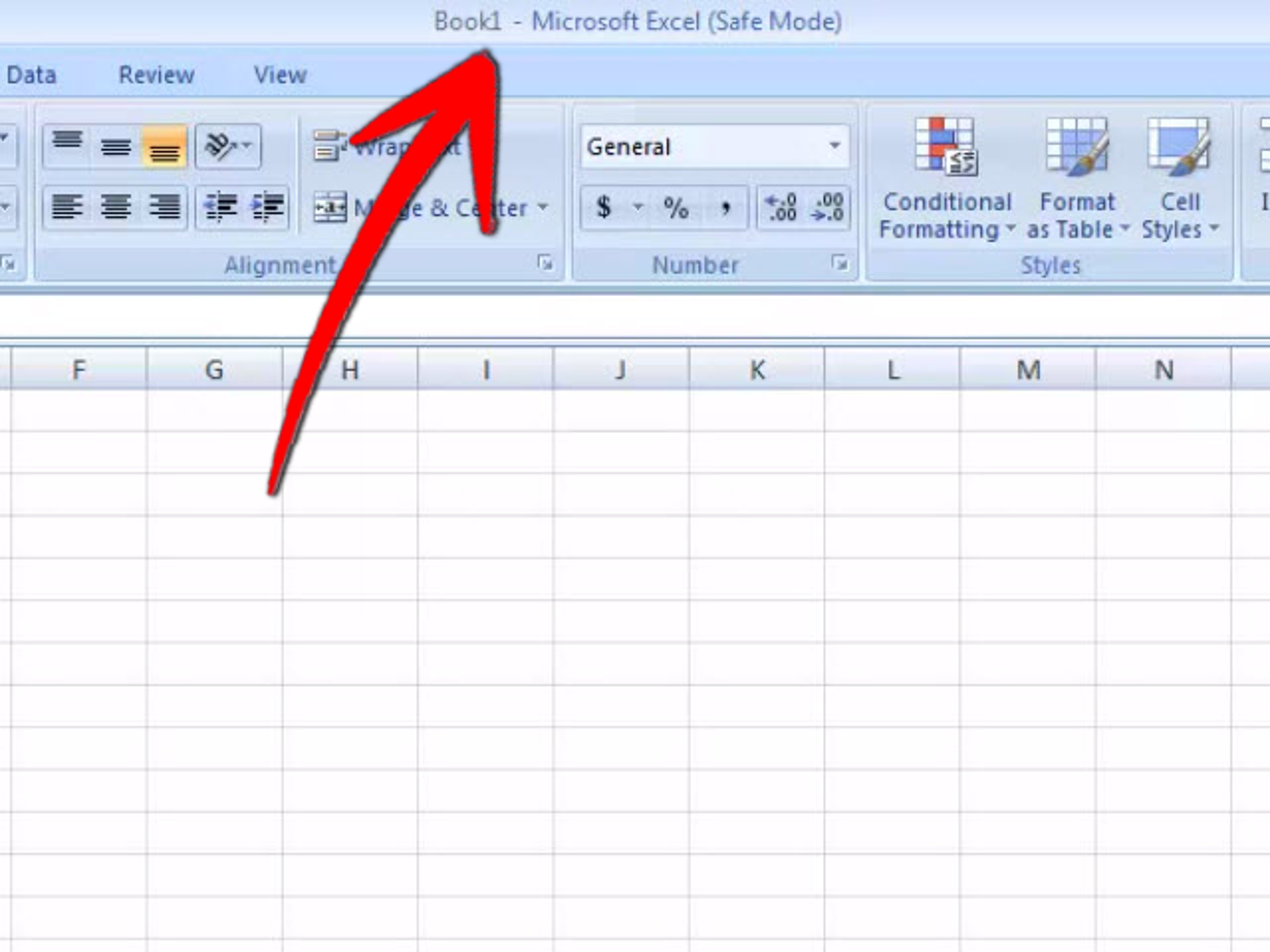 How To Tackle Excel Startup Problems 2 Steps With