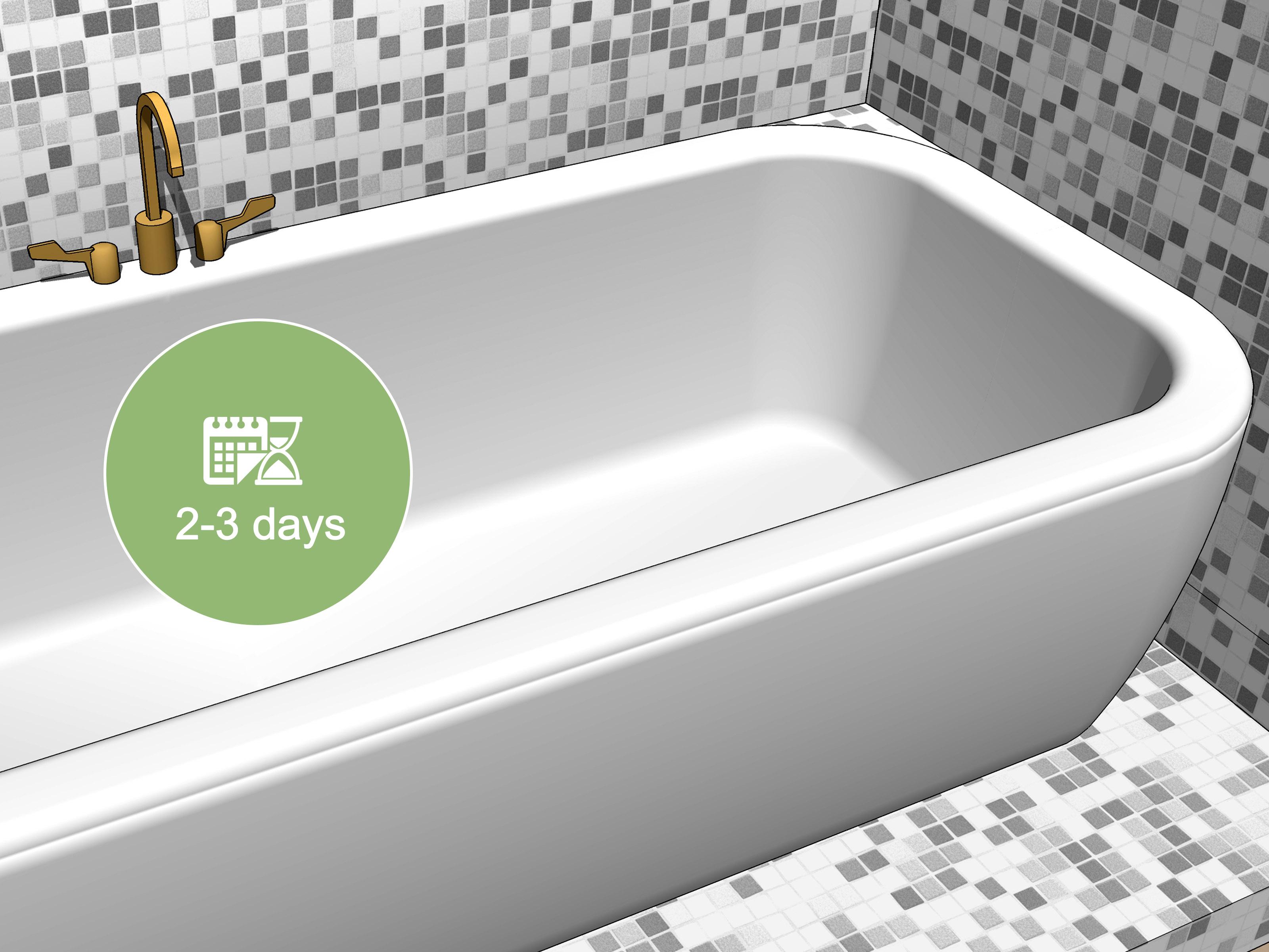 easy ways to fix a chipped bathtub 14