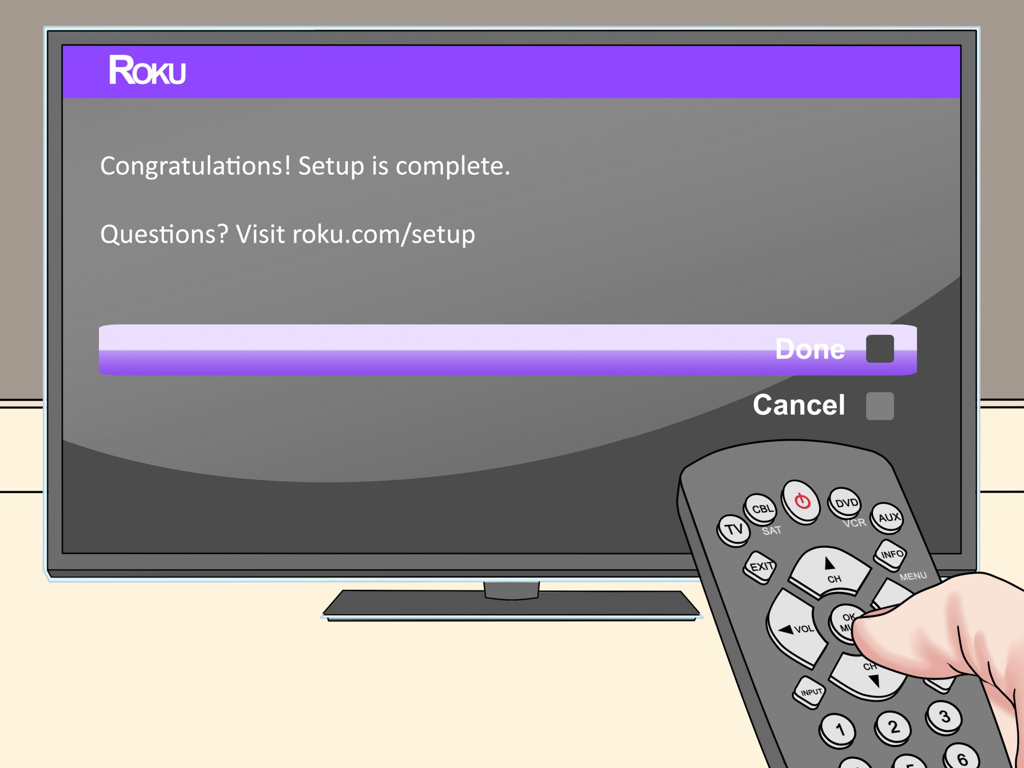 hight resolution of how to connect roku to tv
