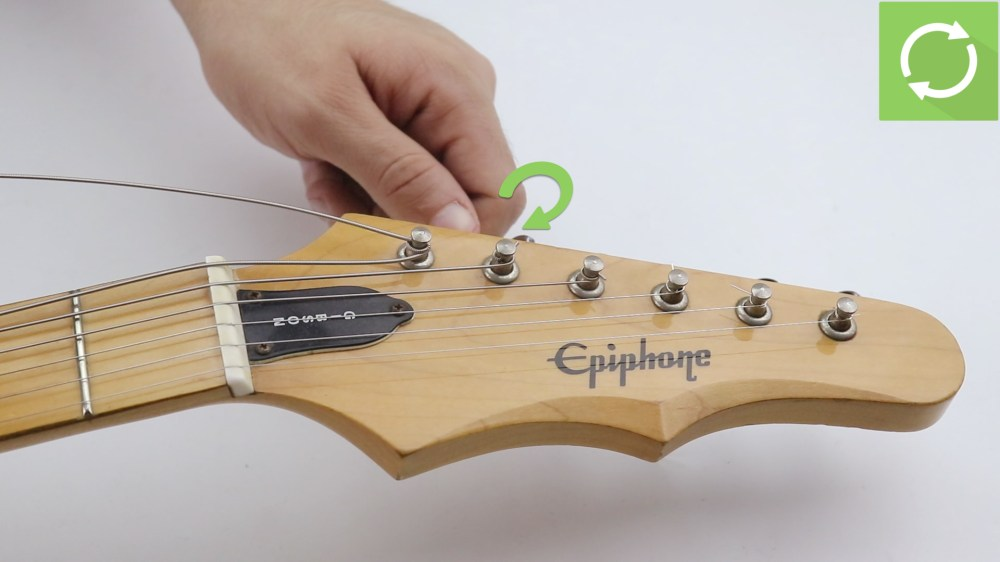 medium resolution of how to change strings on an electric guitar