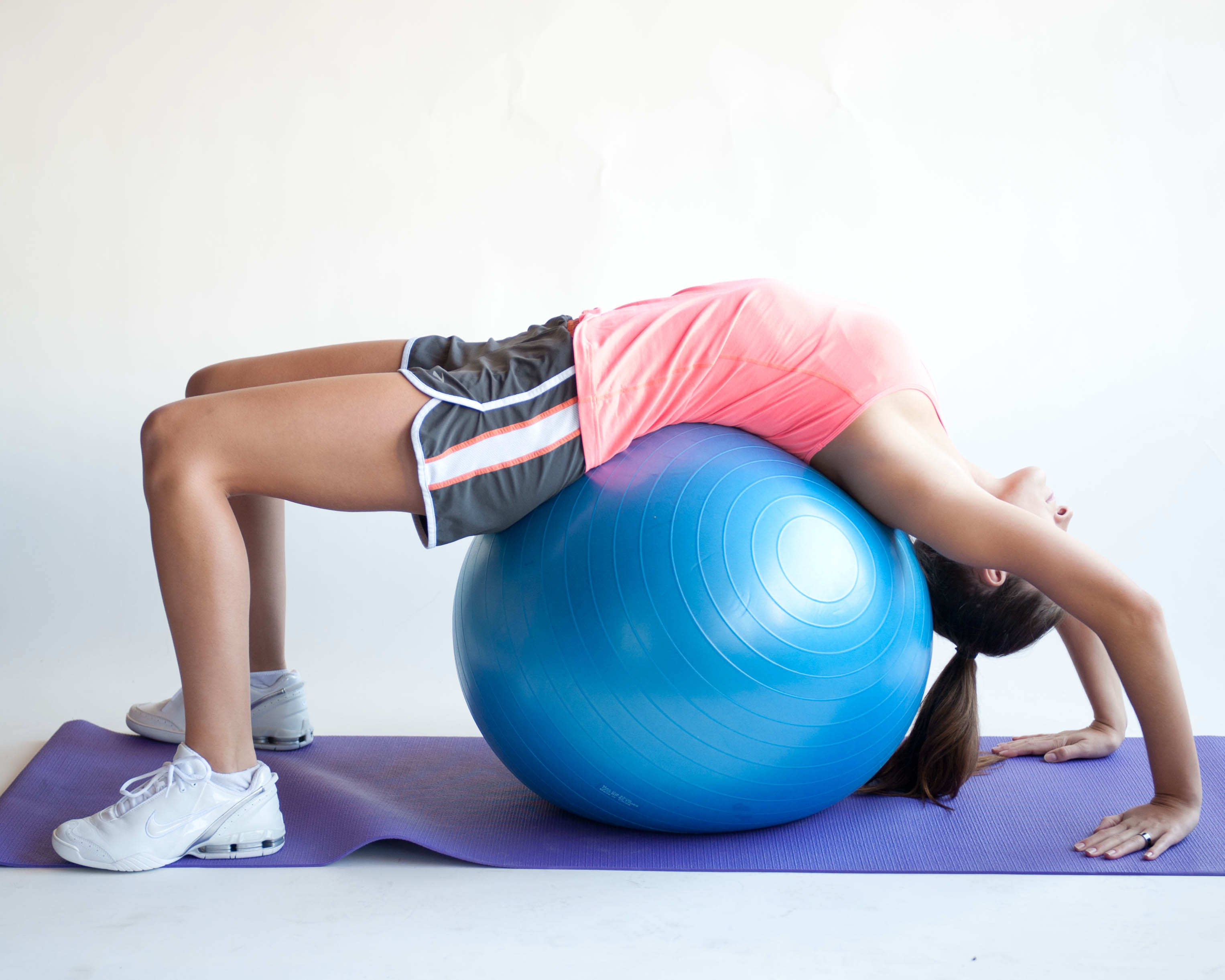 Exercise Ball As Chair