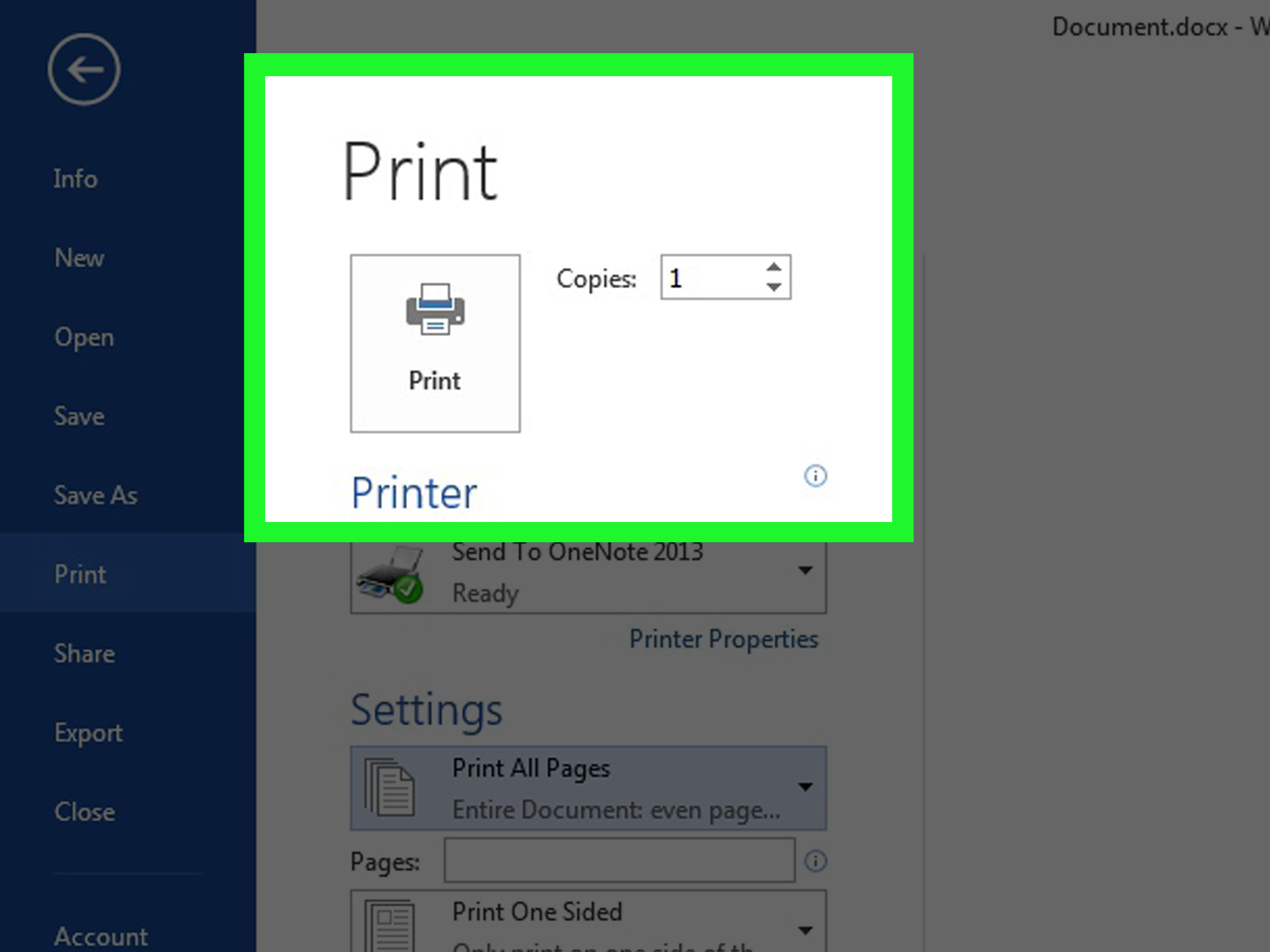 How To Print Double Sided Documents On Any Printer 8 Steps