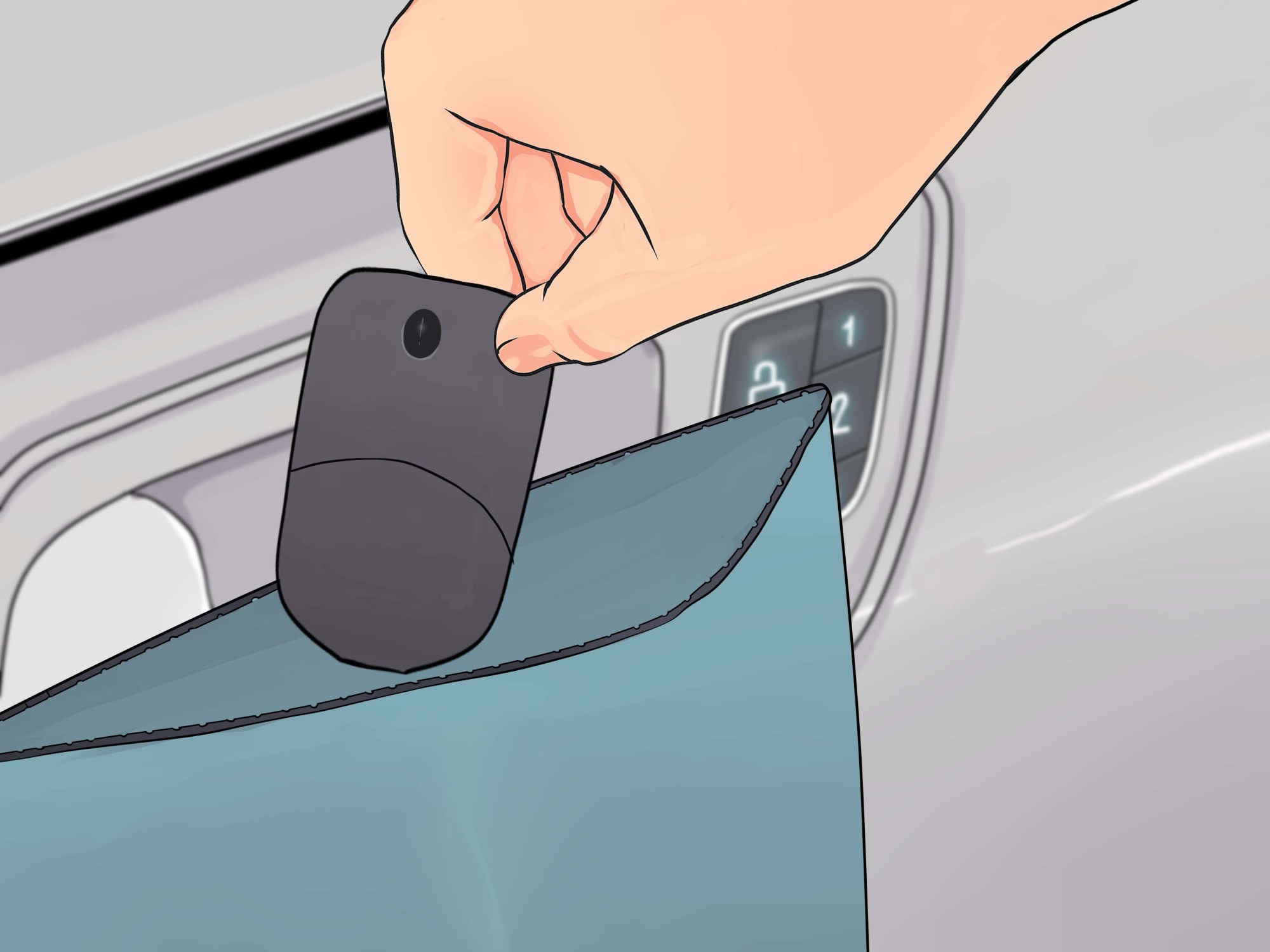 hight resolution of how to lock your car and why