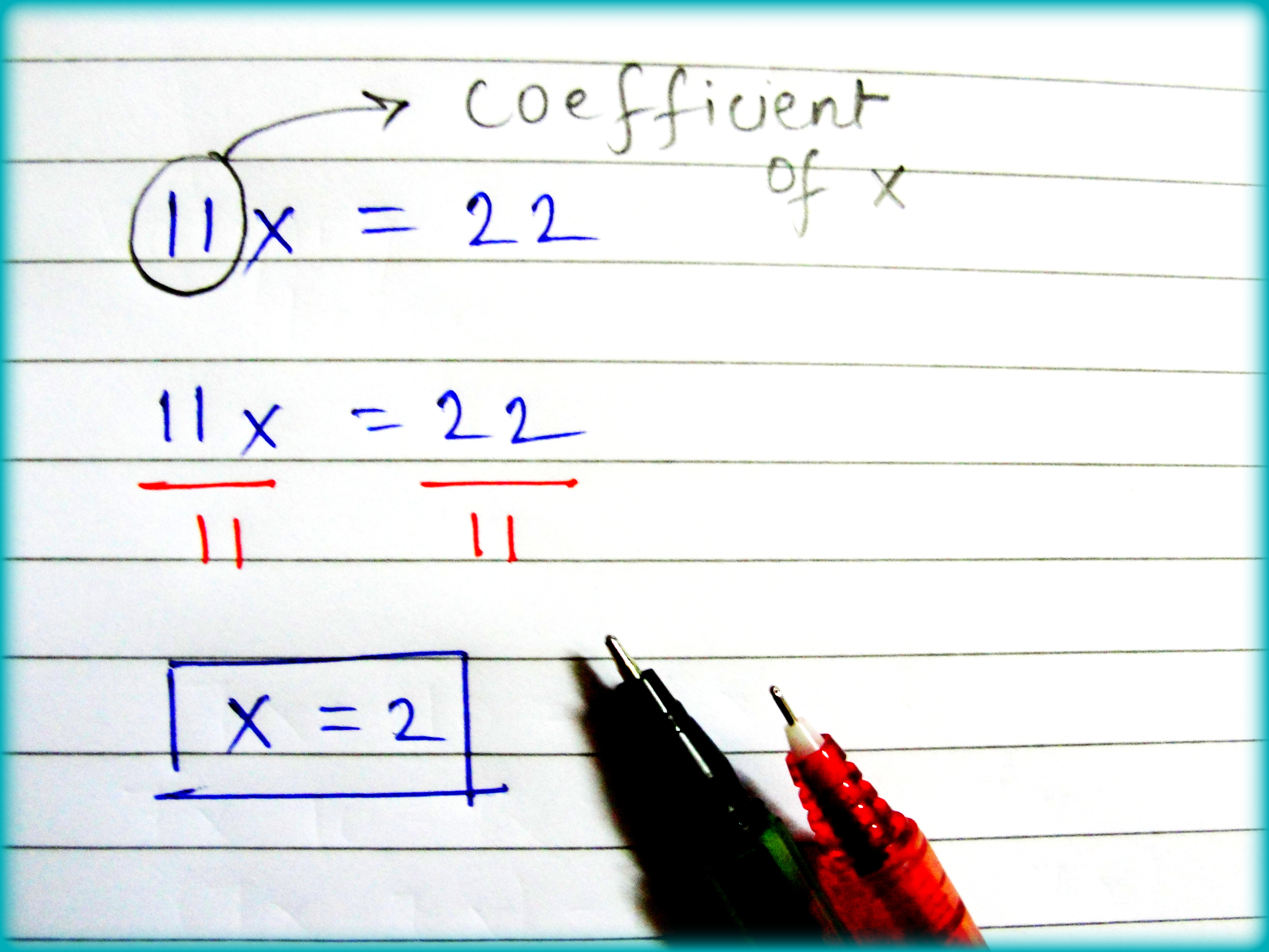 How To Solve A Simple Linear Equation 9 Steps With Pictures