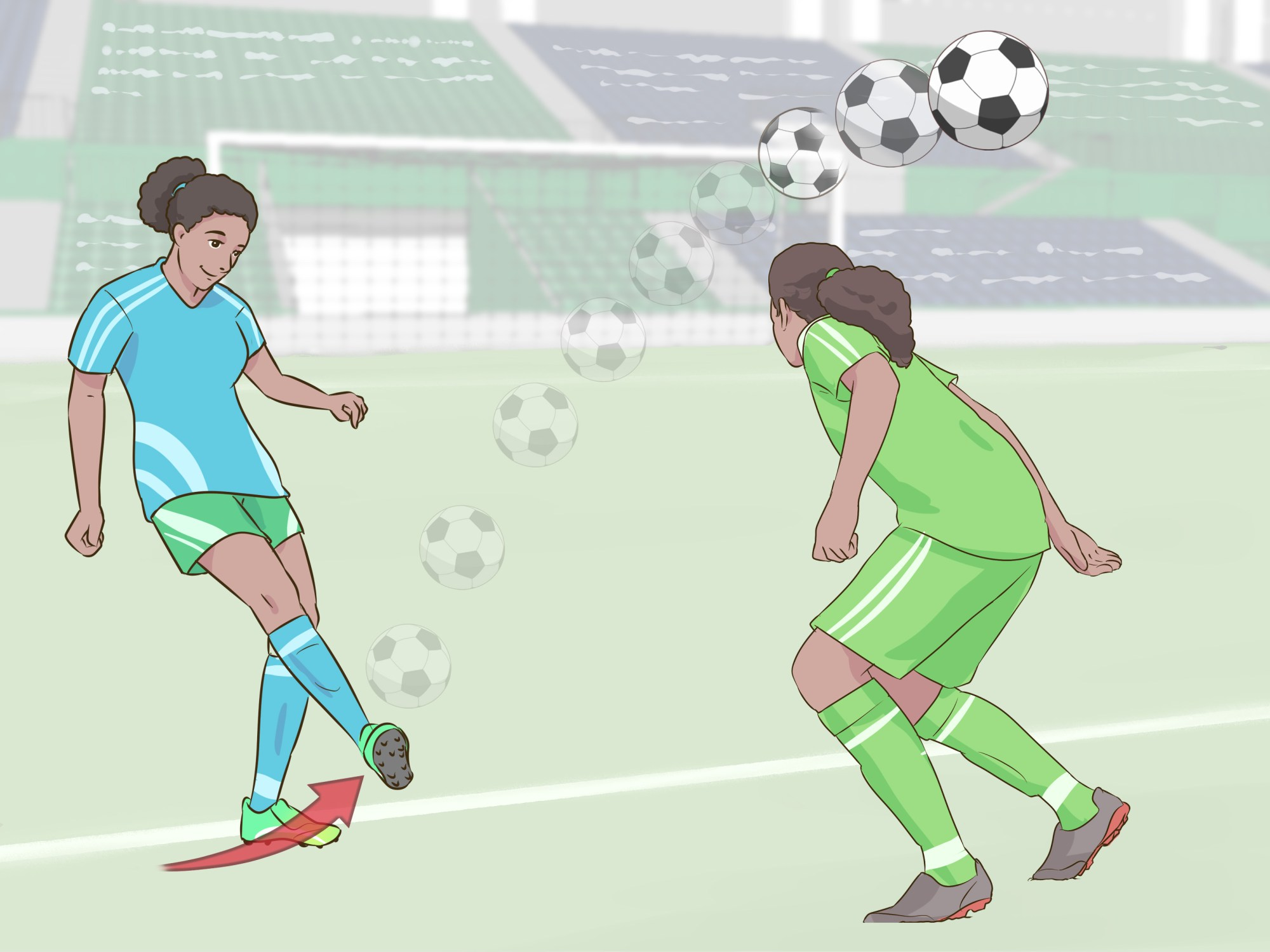 hight resolution of how to shoot a soccer ball