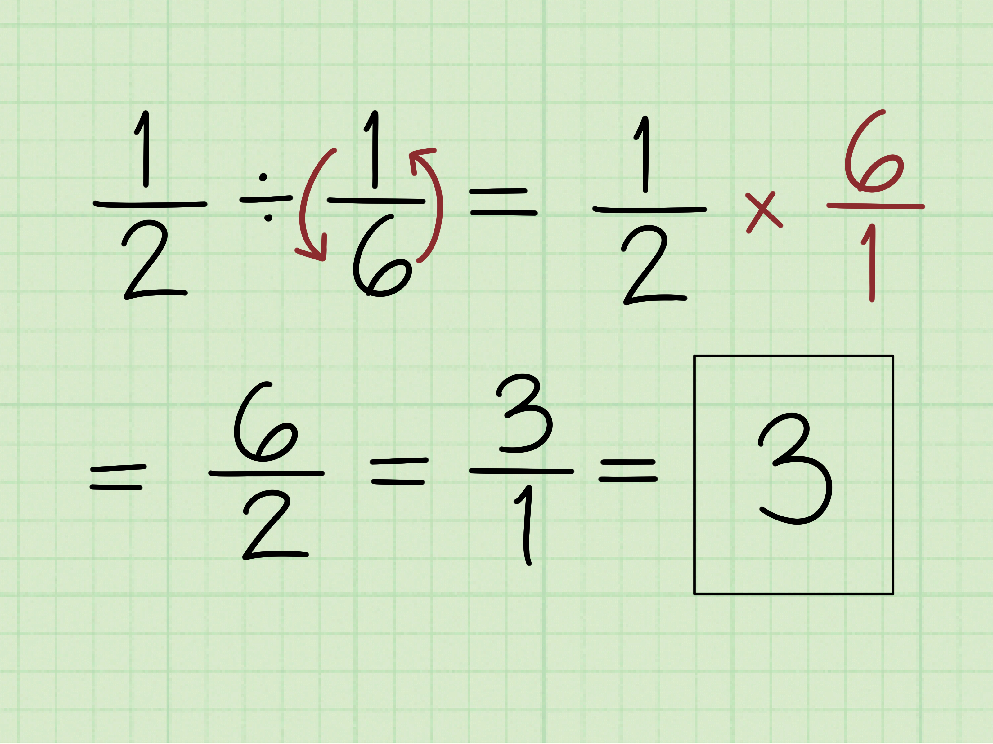 How To Solve Fraction Questions In Math 10 Steps With