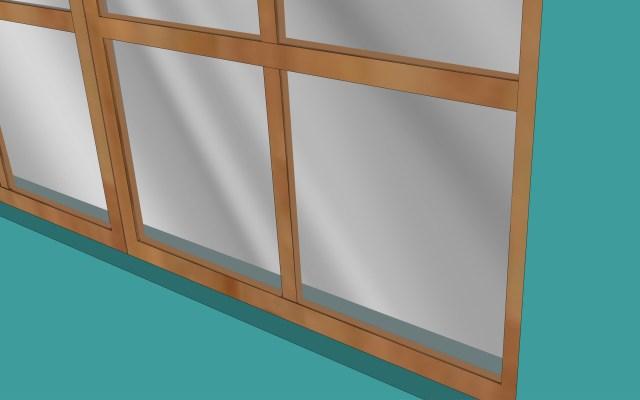 Eine zerbrochene Fensterscheibe in einem Holzrahmen reparieren: 8
