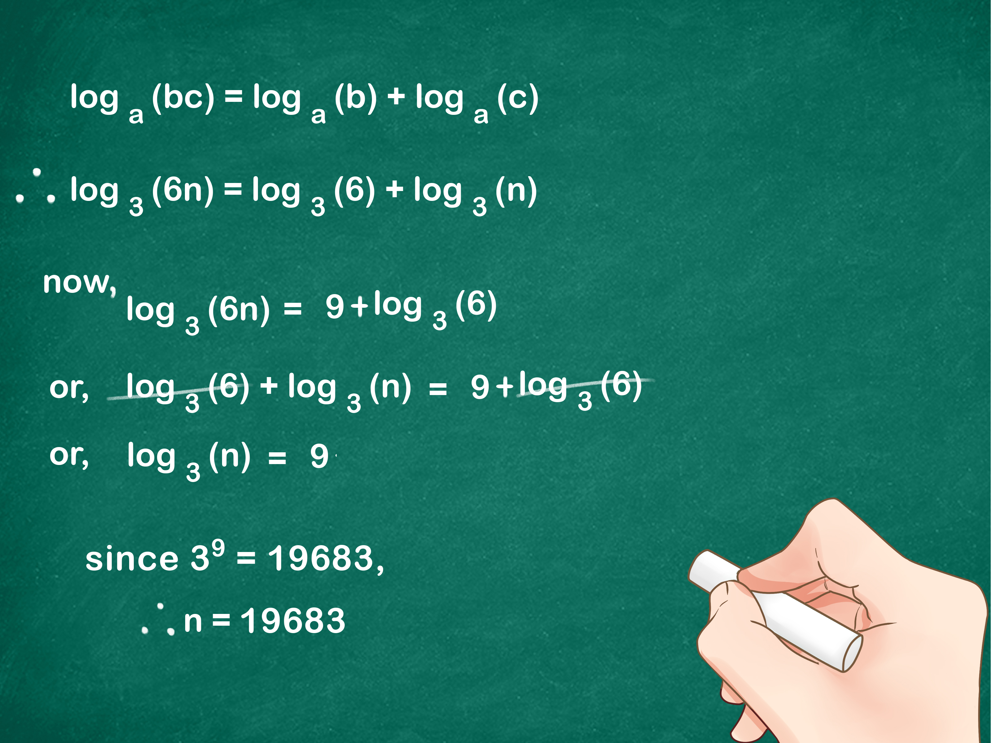 How To Divide Logarithms 11 Steps With Pictures