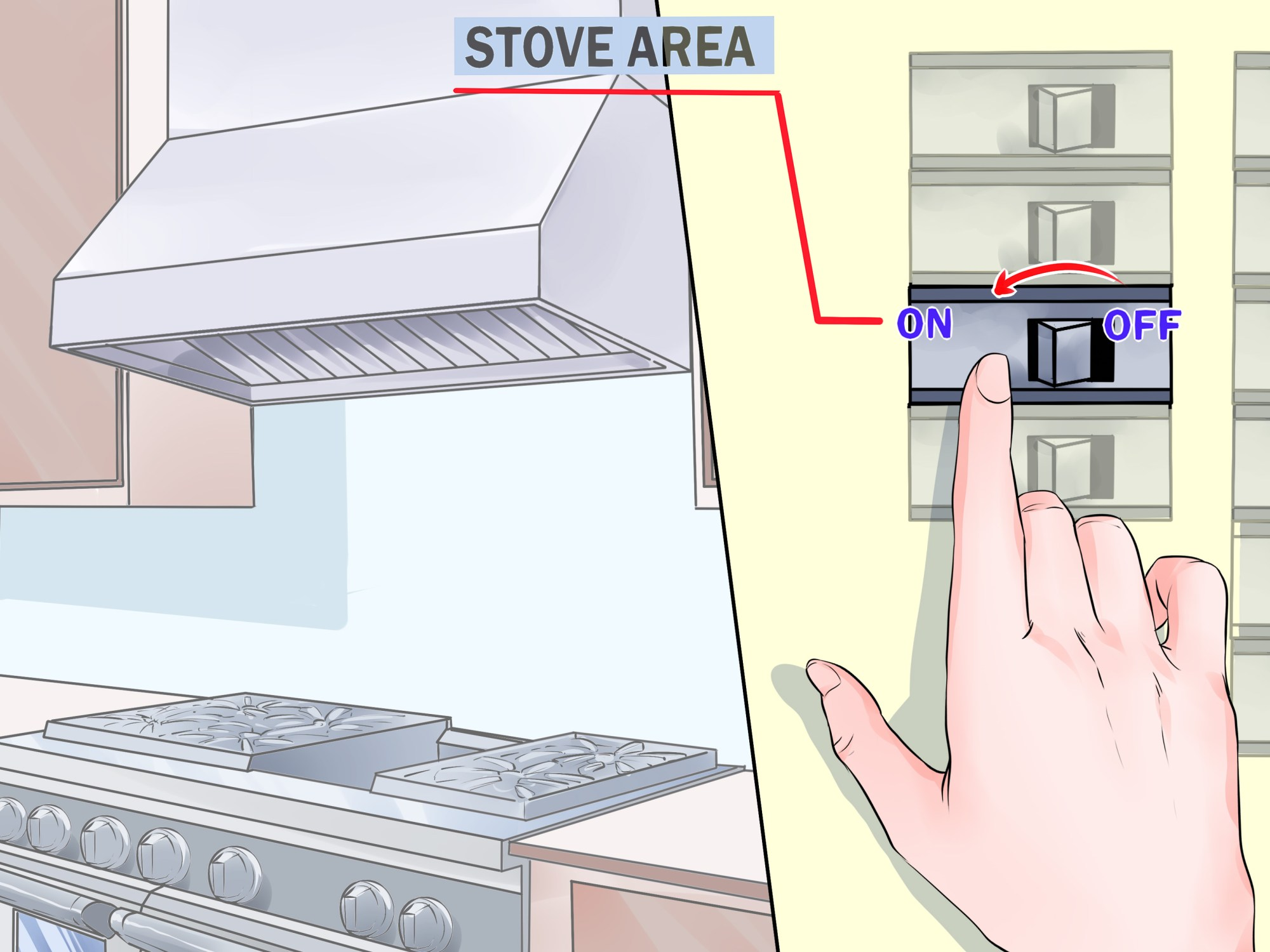 hight resolution of how to vent a stove
