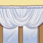 How To Hang A Curtain Swag 15 Steps With Pictures Wikihow