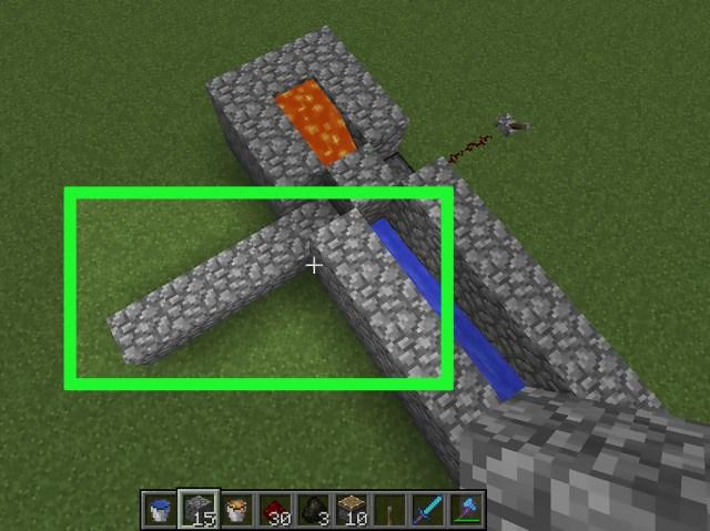 Eine Pflasterstein Fabrik in Minecraft herstellen (mit Bildern