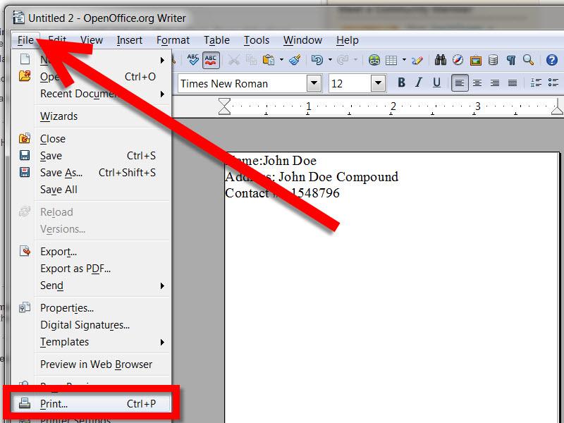 Free Resume Template Open Office Writer Resume Maker