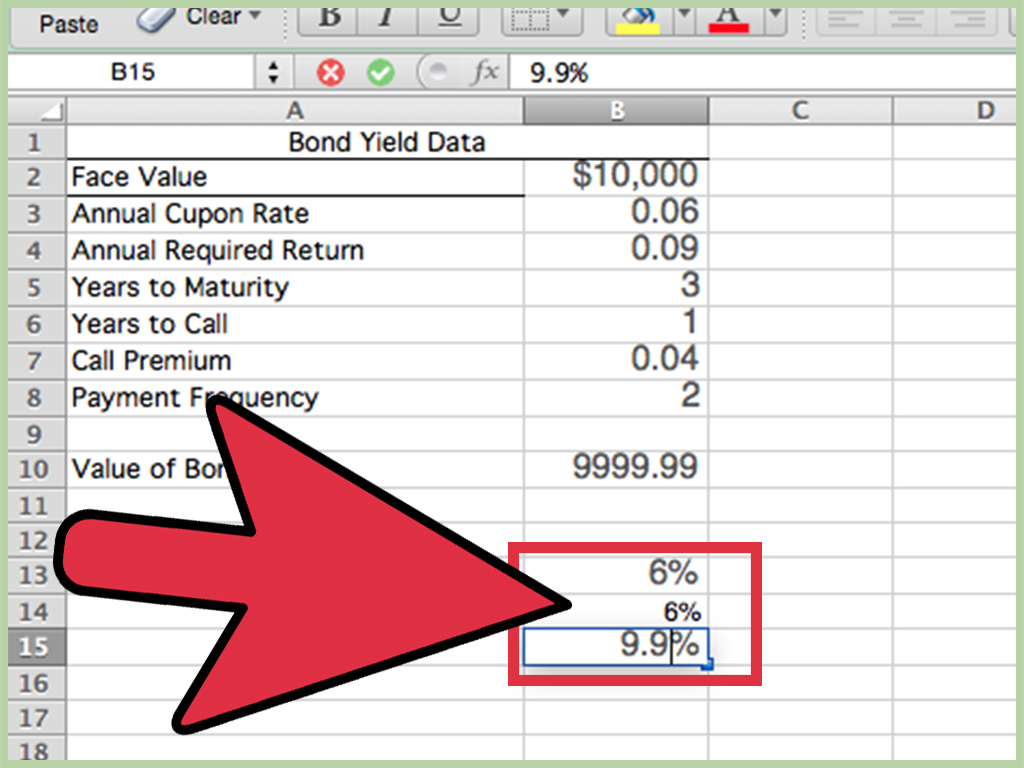 3 Ways To Calculate Bond Value In Excel
