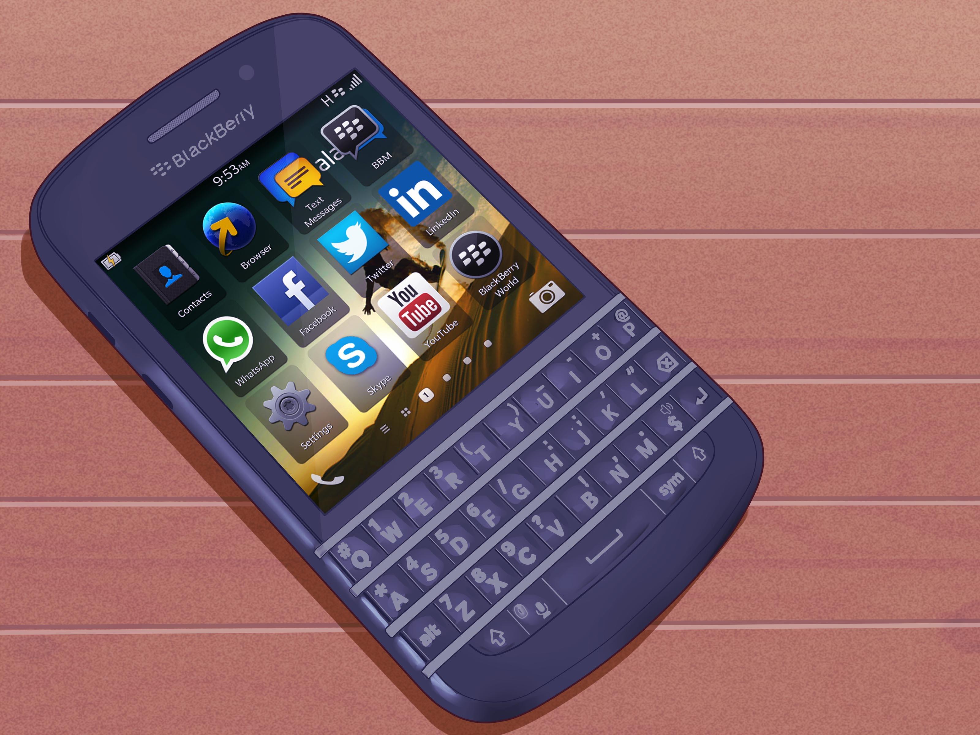 3 Cara untuk Mengatur Ulang BlackBerry  wikiHow