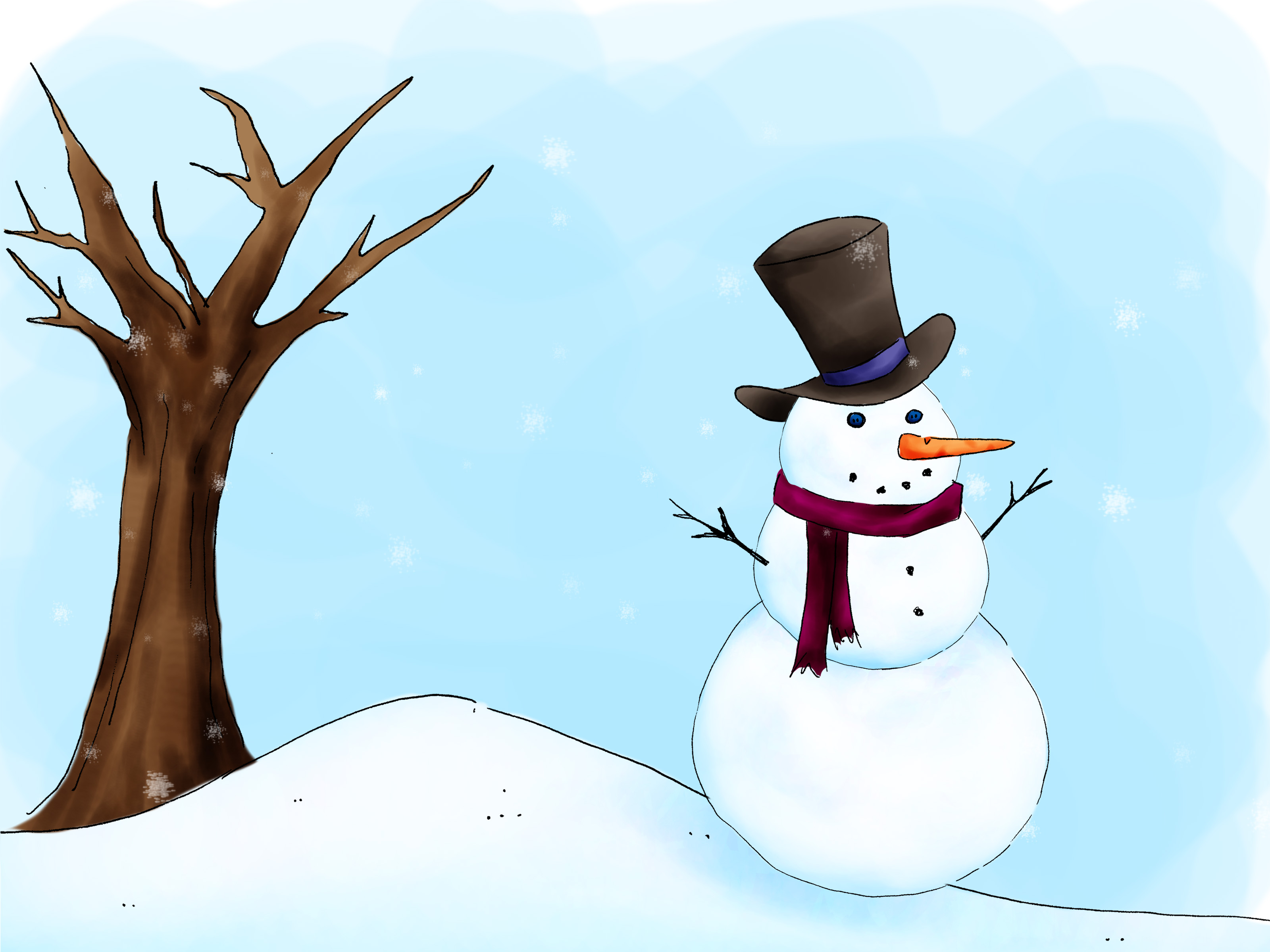 How To Make A Snowman With Pictures