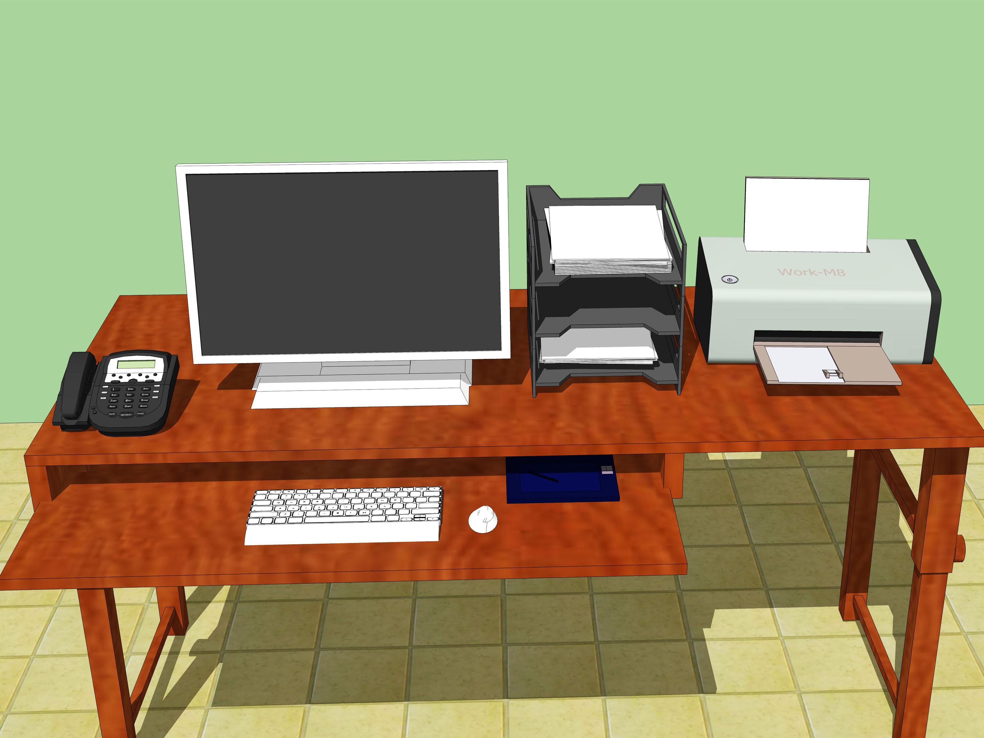 Ergonomically Correct Desk