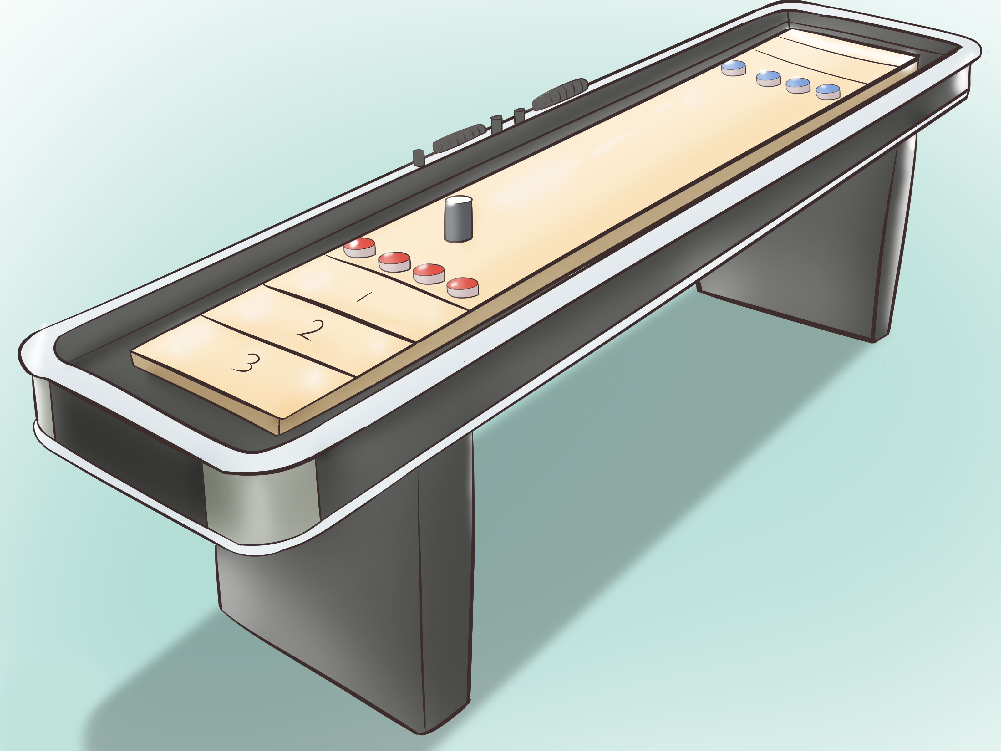table shuffleboard dimensions diagram 1993 chevrolet c1500 wiring how to make a with pictures wikihow