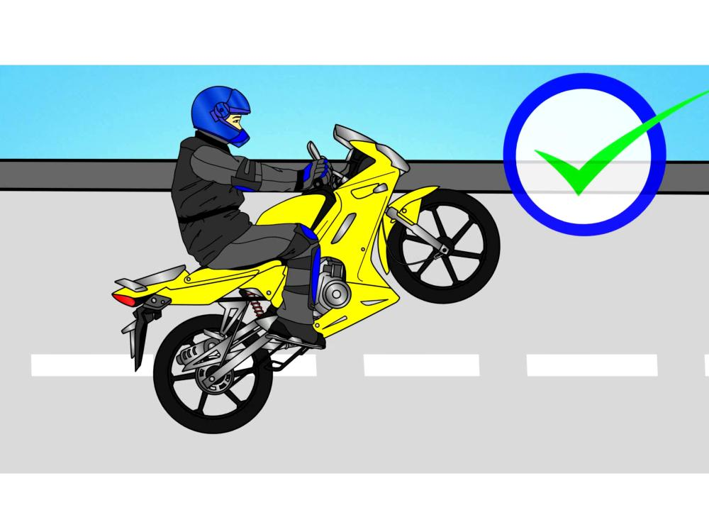 medium resolution of how to perform clutch wheelies on a motorcycle