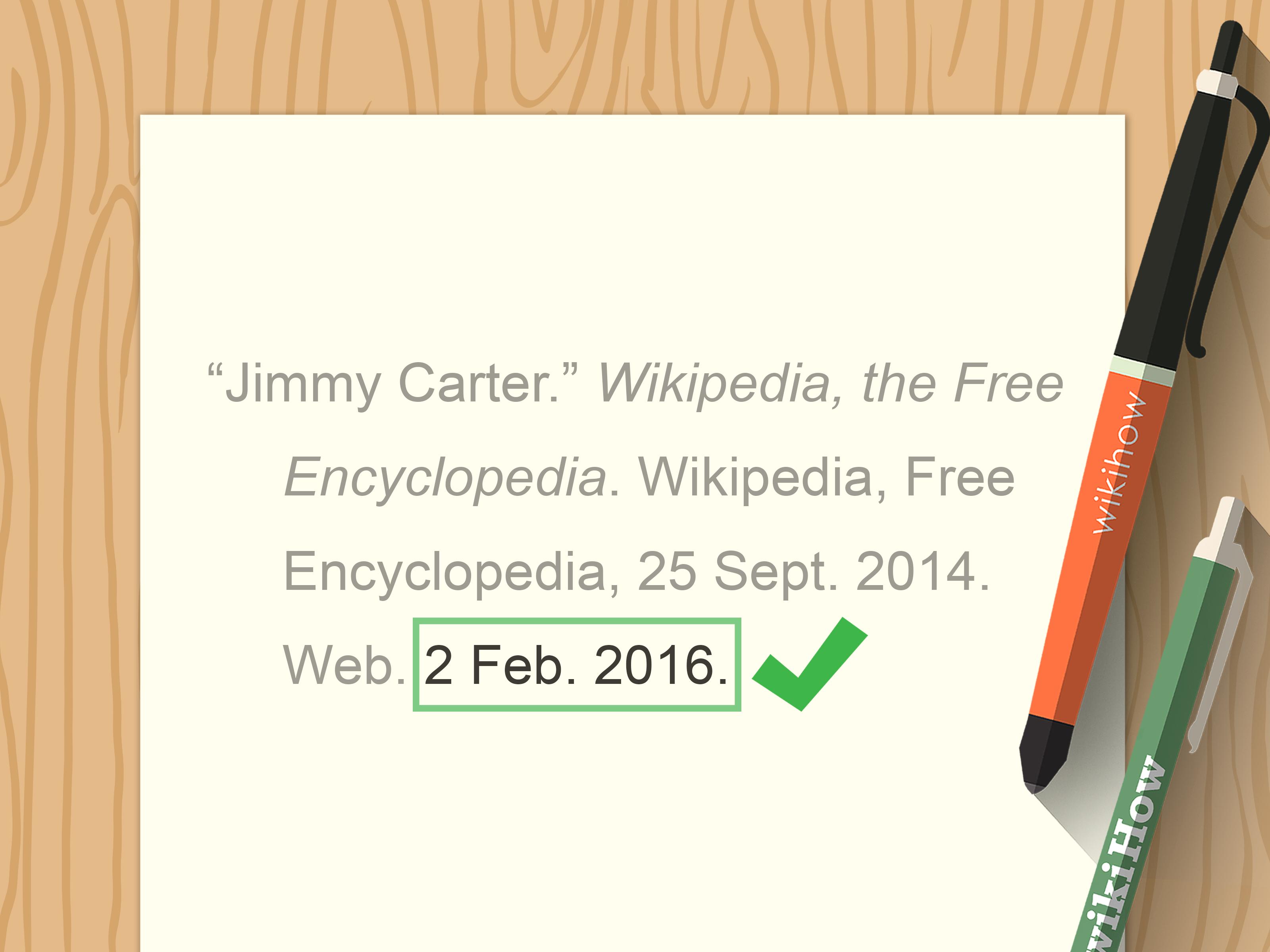 4 Ways to Cite Wikipedia - wikiHow