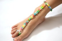 How to Make Rainbow Loom Barefoot Sandals