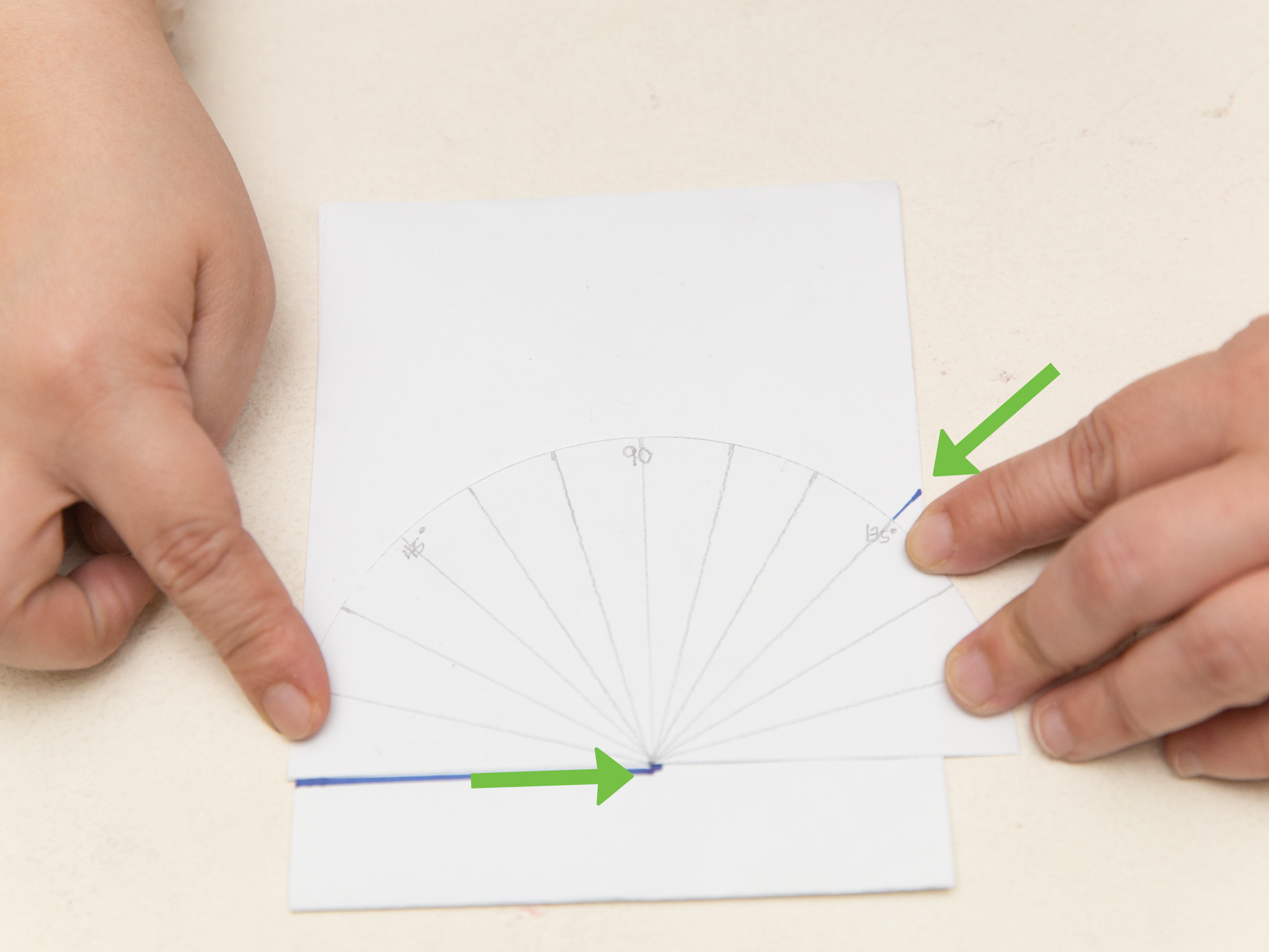 3 Ways To Make A Protractor