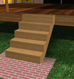 how to build porch steps [ 3201 x 2401 Pixel ]