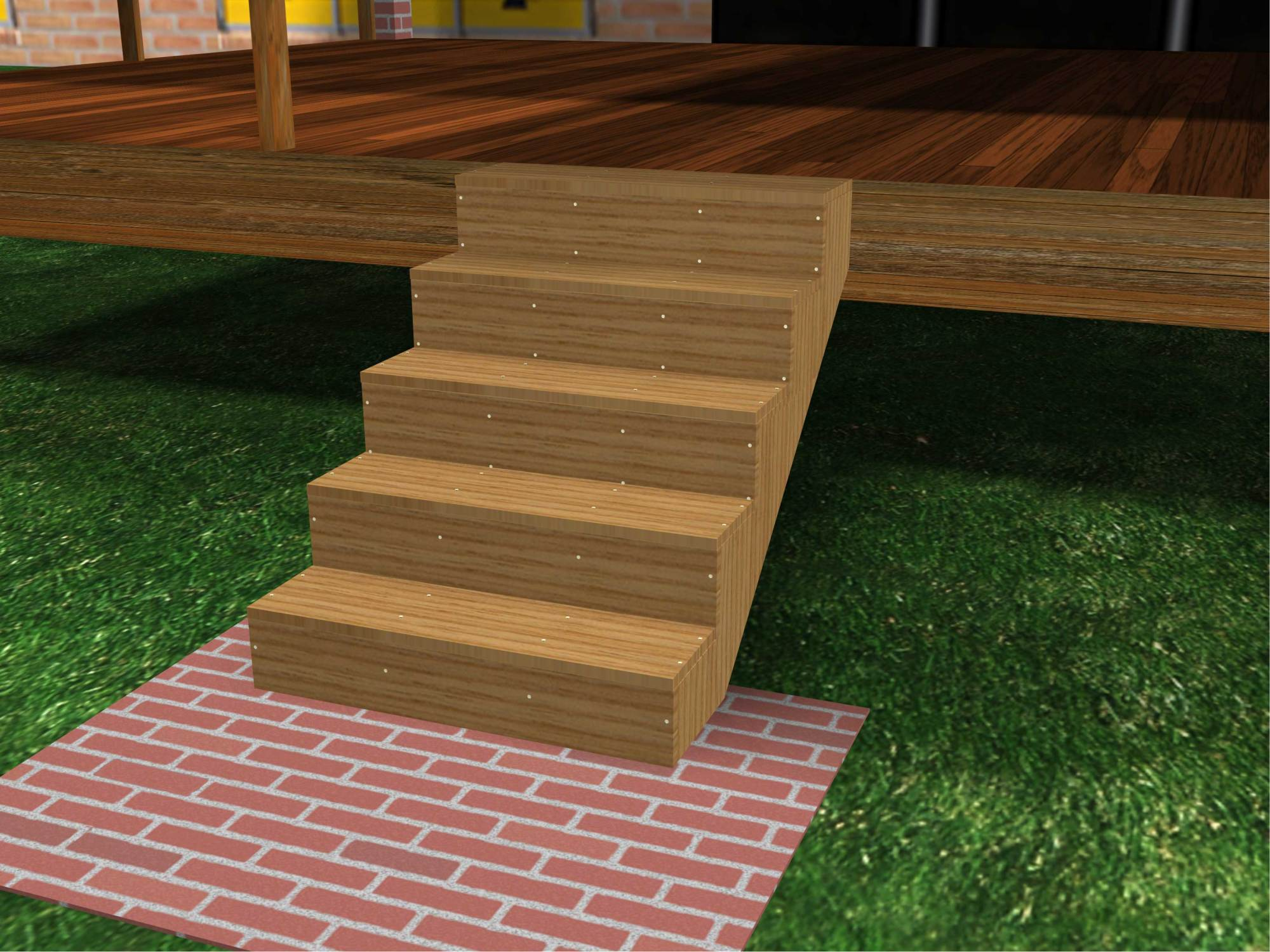 hight resolution of how to build porch steps