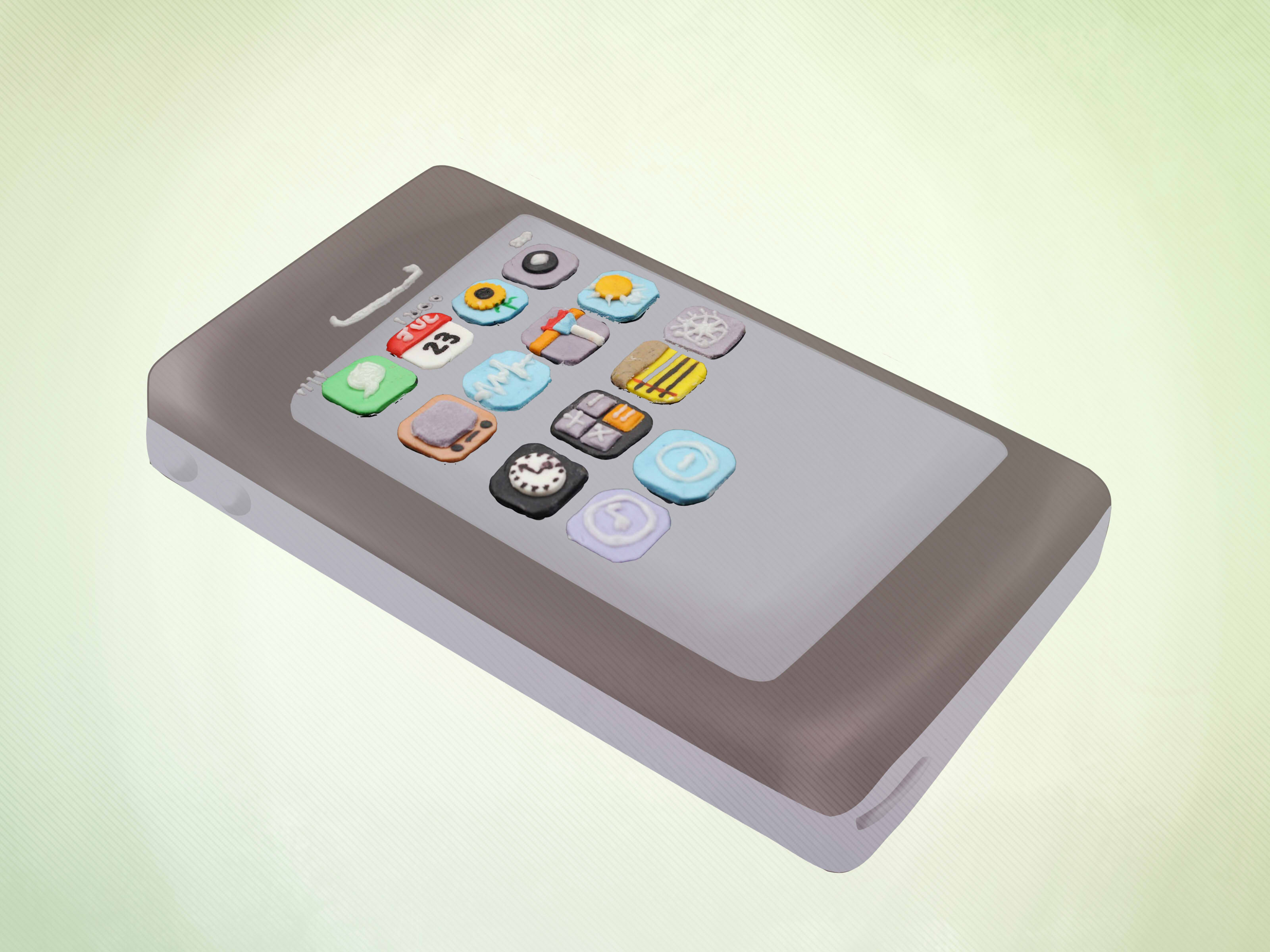 How To Make An Iphone Cake 15 Steps With Pictures