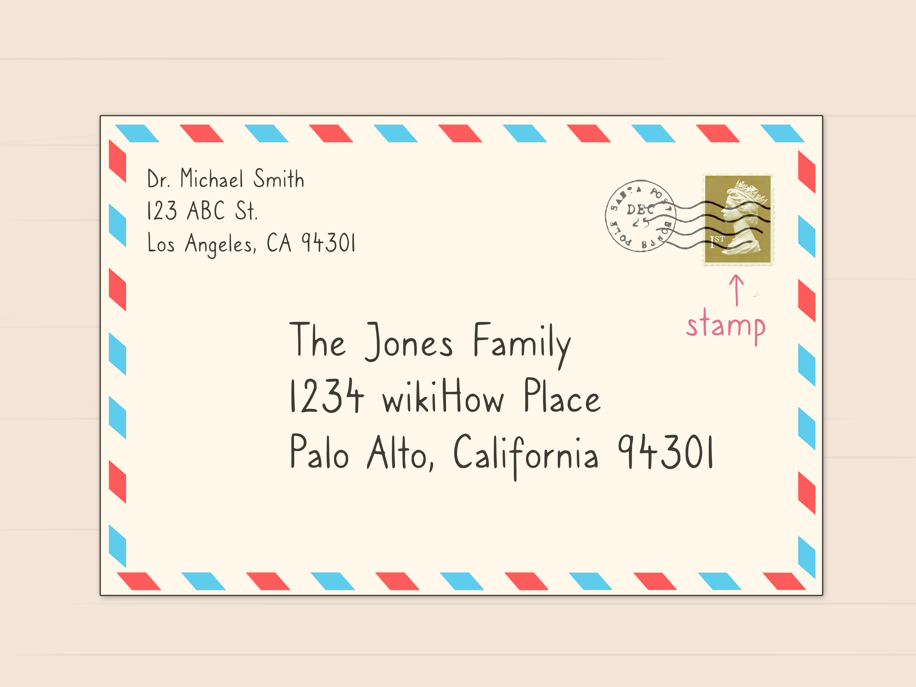 Simple Ways To Address A Letter To A Family 11 Steps