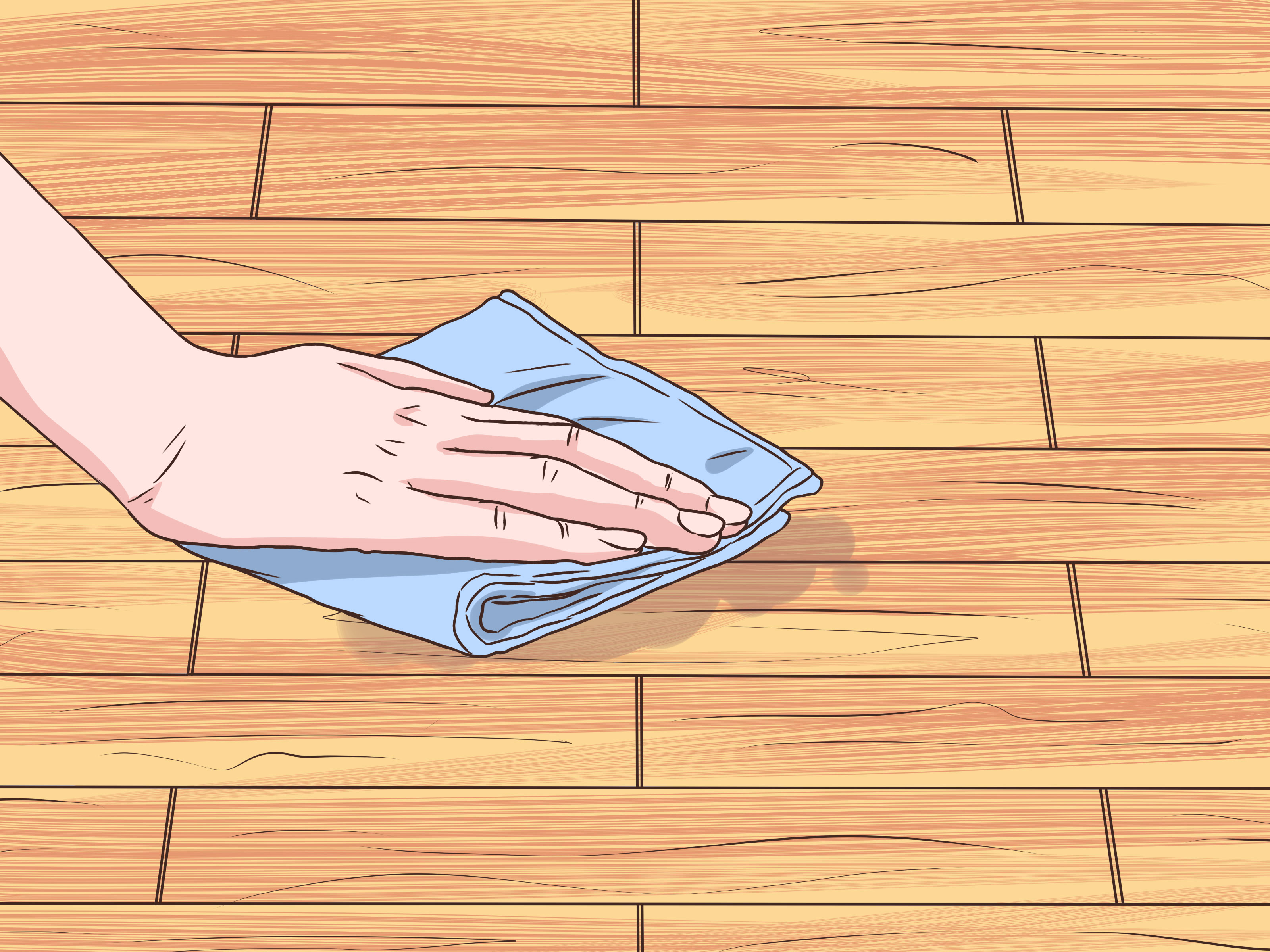 How to Clean Sticky Hardwood Floors 9 Steps with Pictures