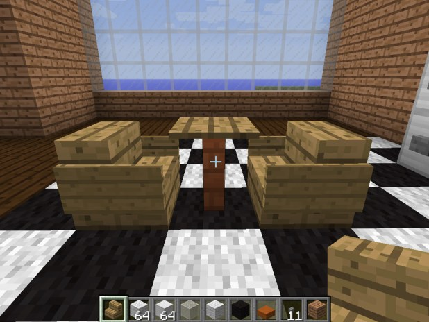 how to build a sink in minecraft